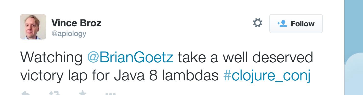 Brian Goetz victory